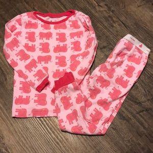 Baby Gap Girls Pajama Set